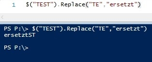 Preview PowerShell String manipulieren